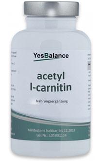 Acetyl-L-Carnitin gut bei Erschöpfung